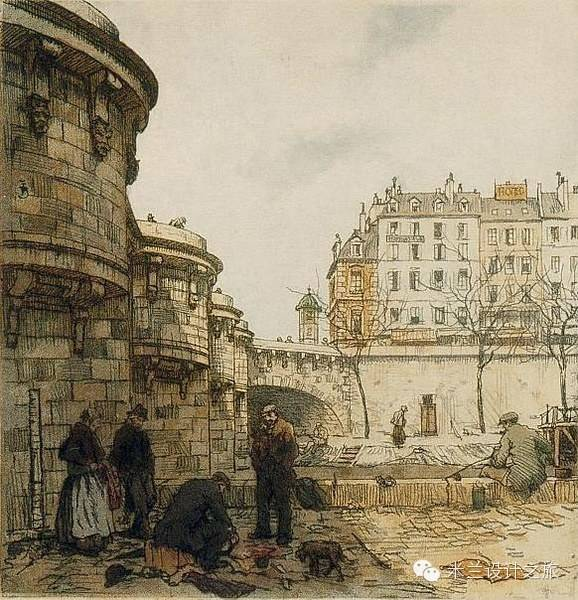 国外百年前的绘本和现如今的实景,今昔相比,历史的尘埃犹在 - shengge - 我的博客