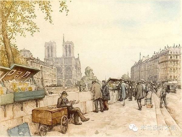 国外一百年前画和现如今的实景 - 快乐者 快乐着 - shangshanruoshui的博客