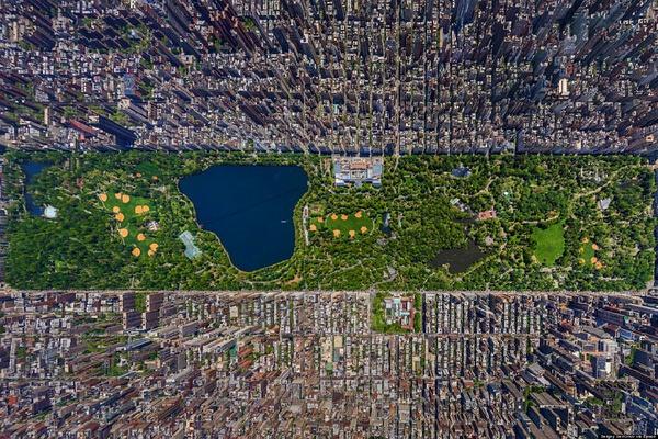 俯瞰各国城市!太美了!看到北京我惊呆了! - 上海证券会馆 - 上海证券会馆