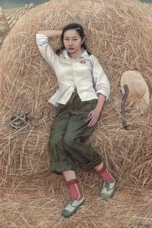 ?中国最美女知青,第一次看到,太美了!