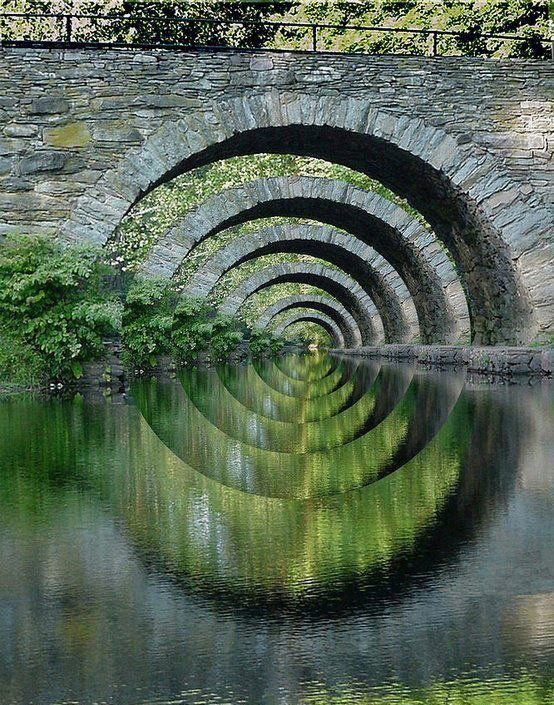 桥之美,唯愿沉醉。 - 空山鸟语 - 月滿江南