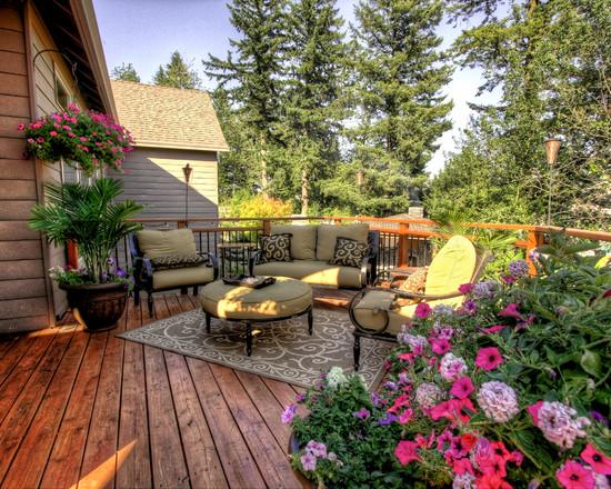 [转载]这么漂亮的花园露台,赶快收藏!总有一款你喜欢的! - deng62995636 - 缤纷世界