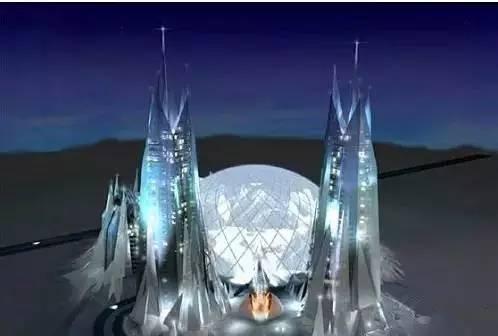瘋了,杜拜又瘋了,這次連月亮都摘下來了。