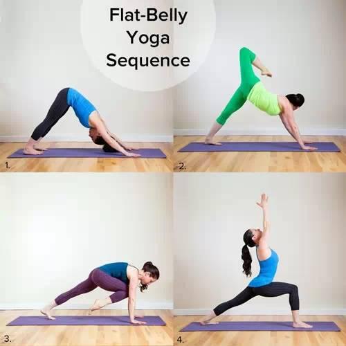 史上最全瑜伽瘦身教程,一看就会!