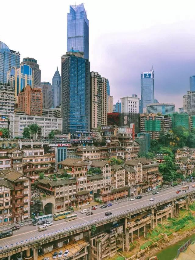 重庆这张照片!轰动了亚洲,震撼了全世界!