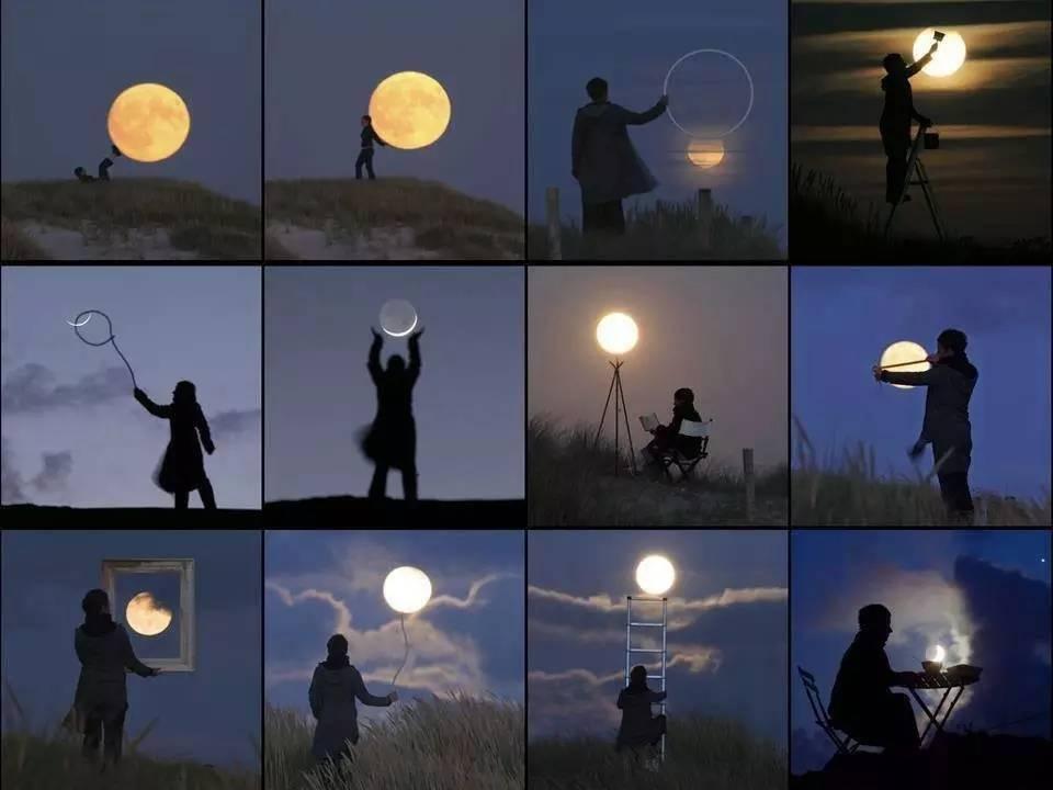 看大师怎么玩月亮,据说花了5年时间。