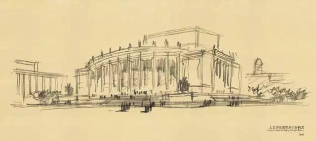 建筑手绘设计作品,建筑师必备——陈世民手绘设计作品,看到你惊艳