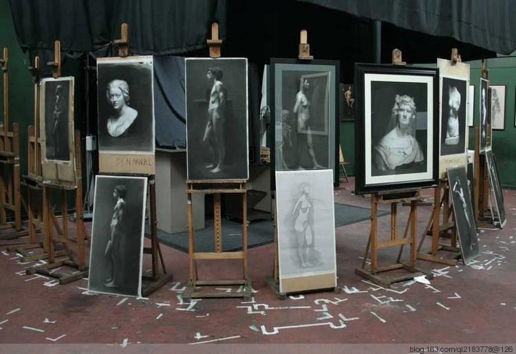 世界第一美院--佛罗伦萨美术学院学生作品【网络资料的改编】 - 孺子牛 - 年轮兮老者、博客矣犊仔