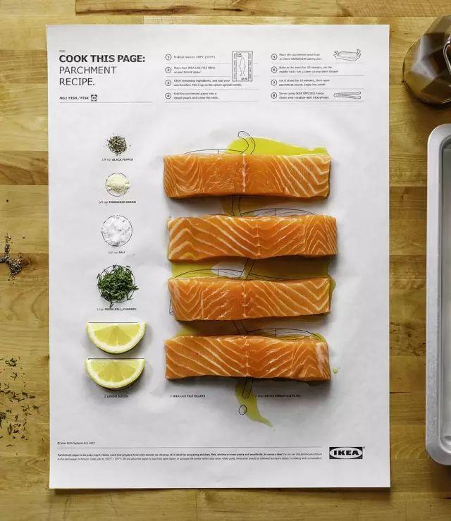 宜家新出的天才食谱,一张纸拯救不会做饭的厨房杀手!