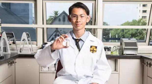 悉尼文法学校高中生研制出廉价治疗艾滋药物