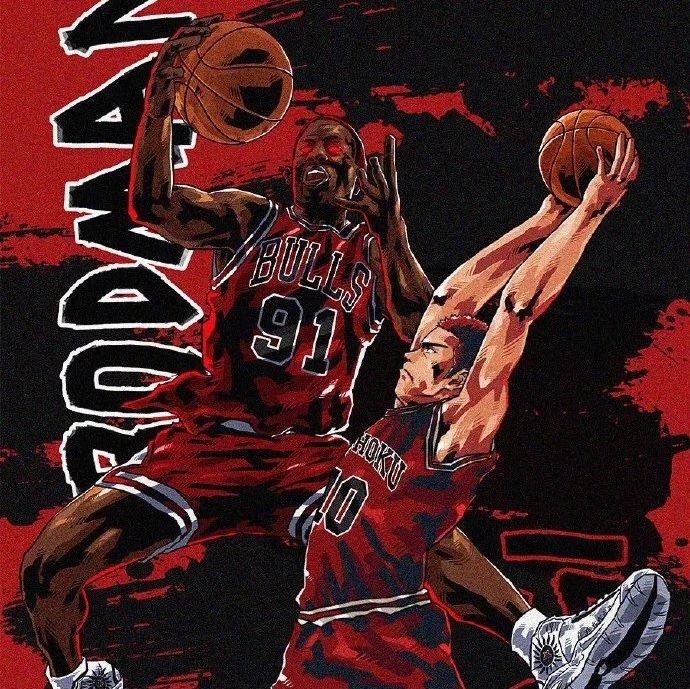 灌篮高手与NBA!那些追梦篮球少年们与超级巨星