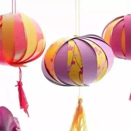 【手工】幼儿园新年手工灯笼制作、最炫还是中国风!