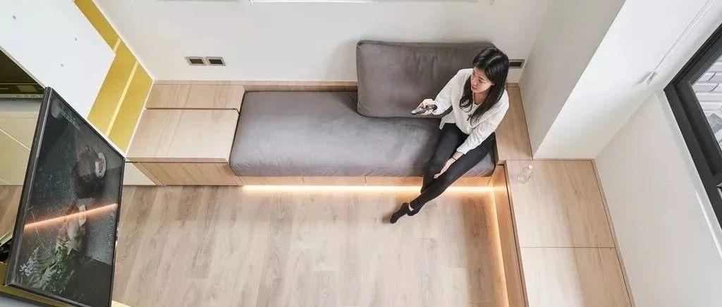 小公寓大设计,超多储物空间!
