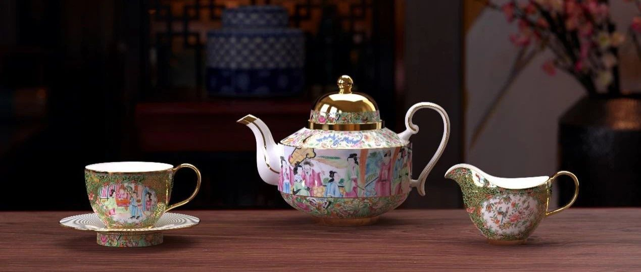 广彩瓷:风靡欧洲皇室的东方奢品