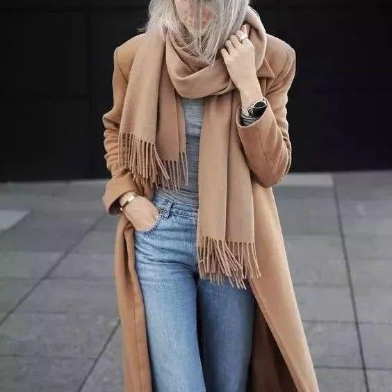 冬天围巾怎么选保暖又好看?附8种最新最全系法