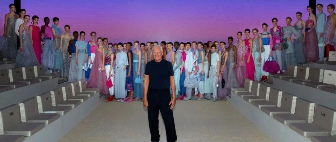 Métissage   Giorgio Armani 2022春夏系列女装秀