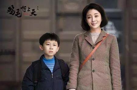 殷桃在演农村电视剧