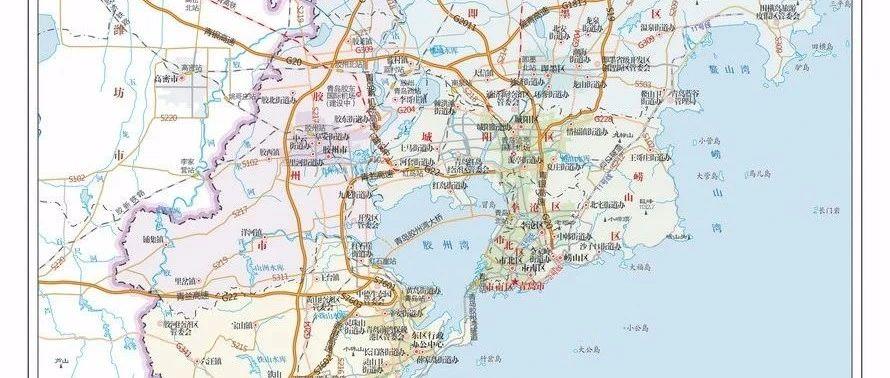 青岛市地图_青岛地产Party
