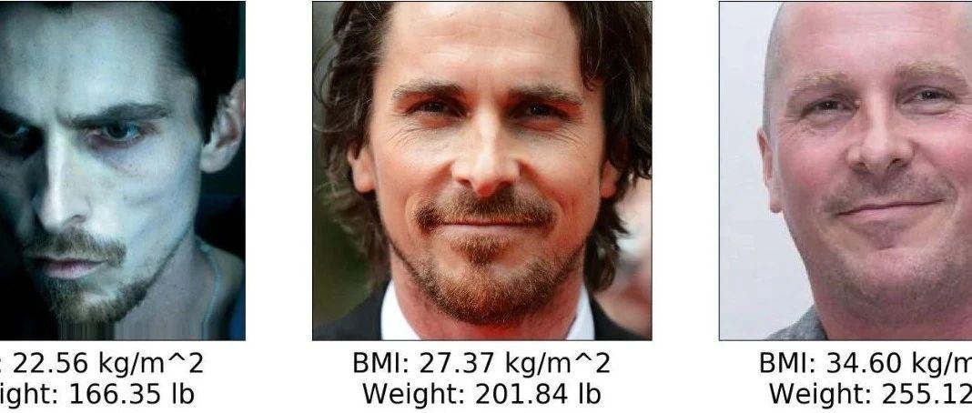 使用Keras和迁移学习从人脸图像中预测体重指数BMI