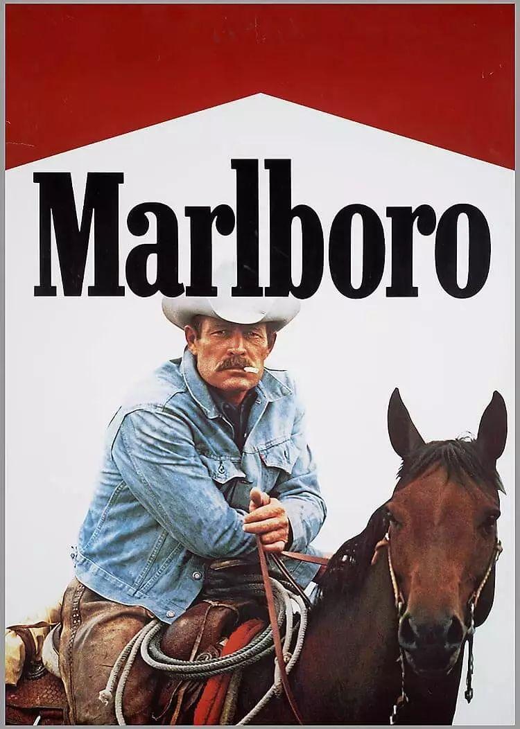 marlboro在推出之初是女性香烟来的,但销量平平直至停产,后在二战后