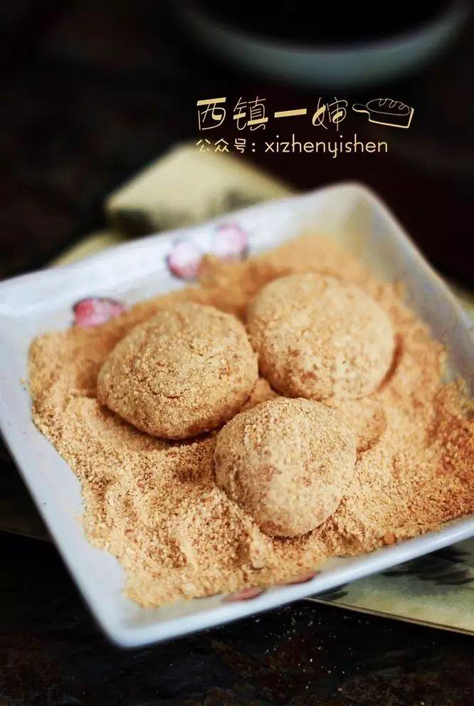 【小吃】黄豆粉糍粑,手作喷香的中式小点心