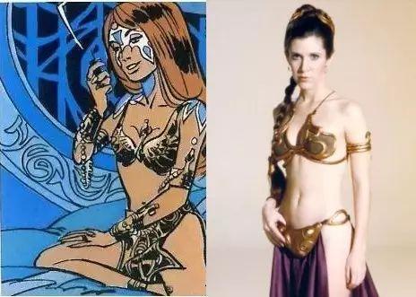 《星际大战》系列就受到它不小的影响,电影中莱娅公主的女奴装就和