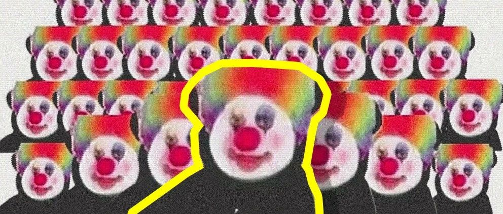 我在你们眼里是不是就是个小丑啊?