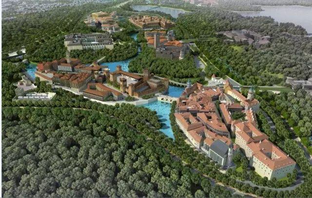 华为花了100亿,为员工造了12个欧洲小镇,幸福到爆棚