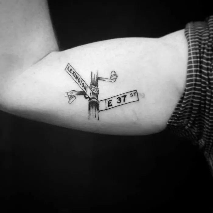 有人却用永恒的刺青来纪念旅行, 每一个刺青,背后都有一颗游走世界的图片