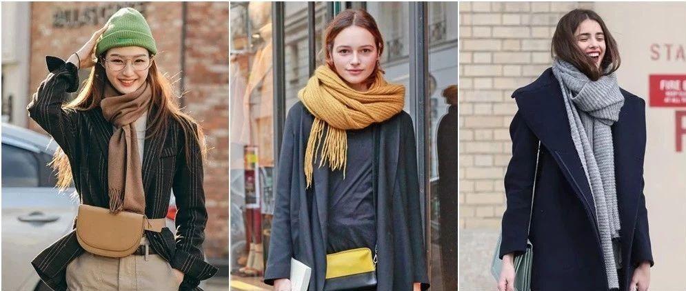买那么多围巾有啥用,这几种系法学会一条抵十条
