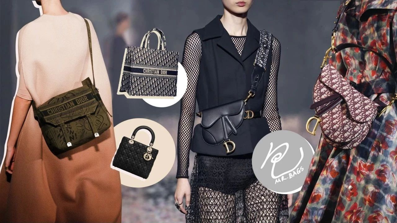 爱包包的女孩儿,2018年怎么都得有一款Dior的包包!