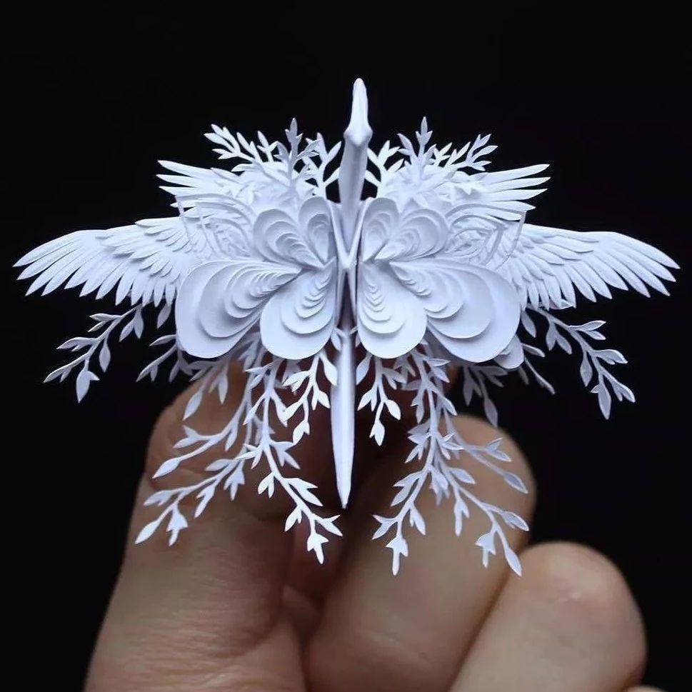 「折纸剪纸」美丽的千纸鹤,原来还能这样做!