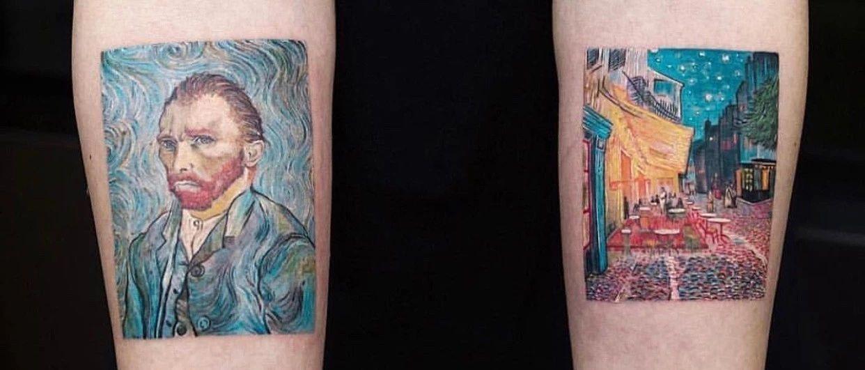 纹身元素 Vol. 8 · 皮肤上的油画