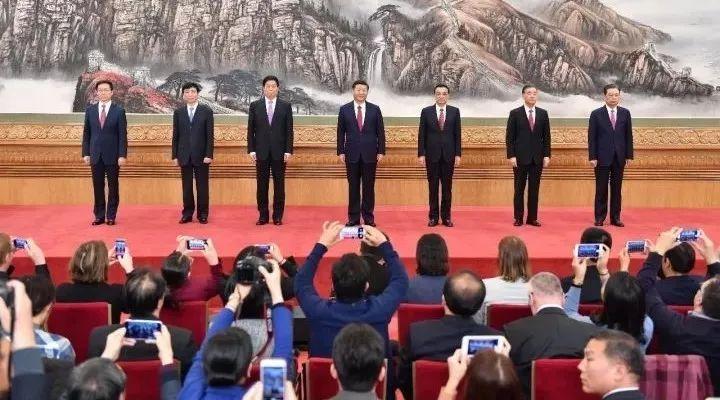 十九届中央政治局七常委简历