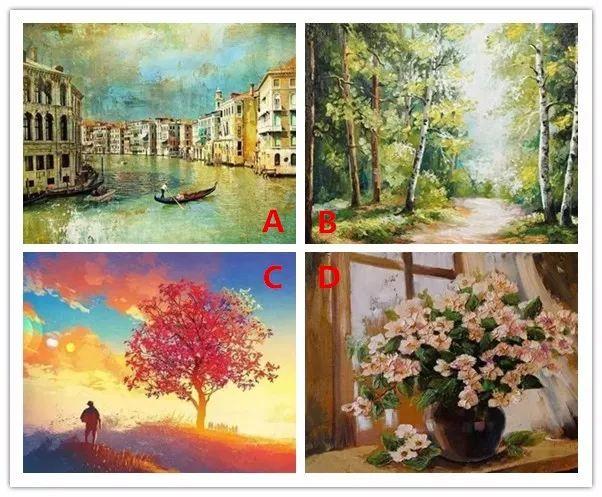 心理测试丨选一副你最喜欢的油画,测试你最近需要注意什么