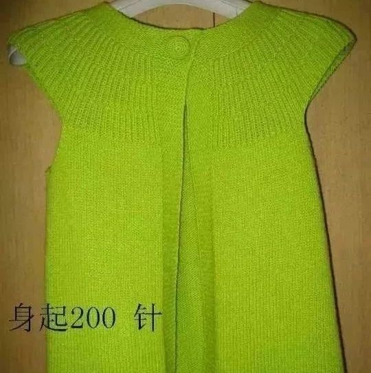编织一款很棒的短袖小开衫,给大家整理了编织说明