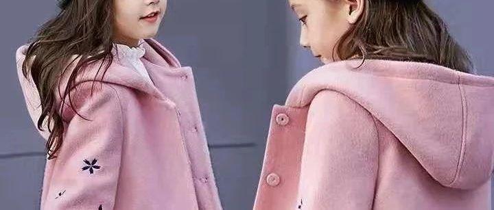 收集的秋冬儿童外套裁剪图