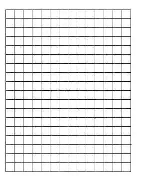 若你看到这张图的线是弯的,极可能失明!还测老花 近视 色盲