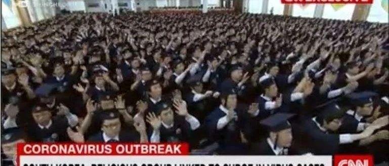 韩国为啥控不住?这邪教续骚操作:养蛊式礼拜,捏造假数据忽悠当局… 这怎么搞?!