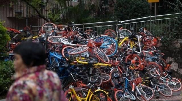 丑陋的中国人:共享单车真是国人的一面照妖镜