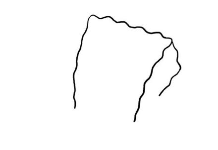 海绵宝宝简笔画绘画教程步骤图解,一步一步教你画可爱