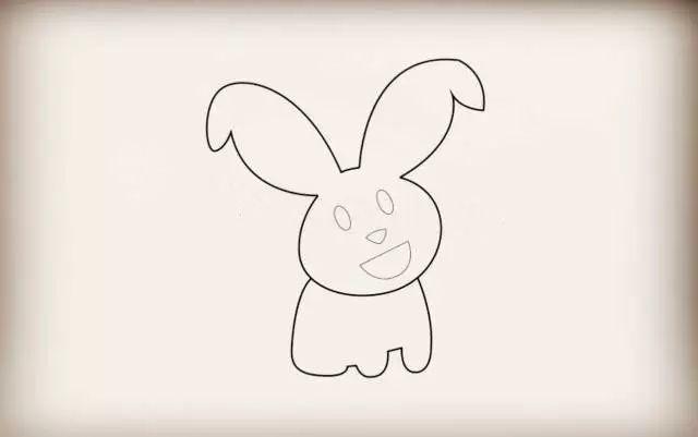 简笔画—小兔子