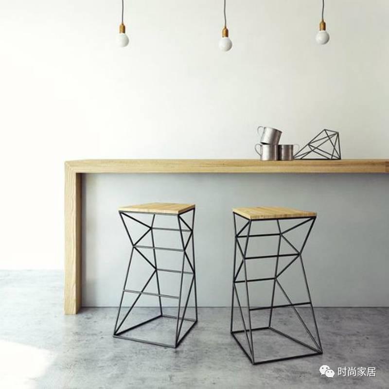 """想营造空间""""骨感美"""",有极简线条风的铁艺家具就够了"""