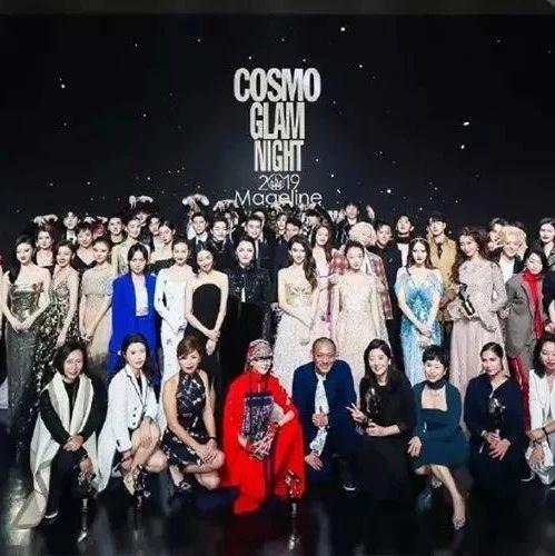COSMO明星大合照,没人抢C位?姚晨、林志玲、刘诗诗等红毯比美…