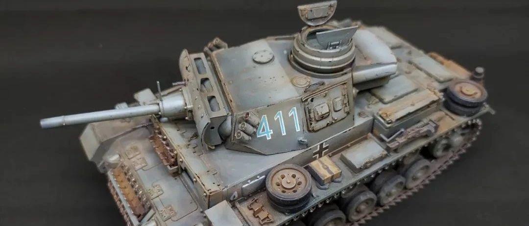 三号F1喷火坦克|模型作品