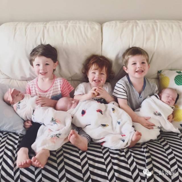她有三個熊孩子,然後又生了三胞胎...所有看到的人都哭了