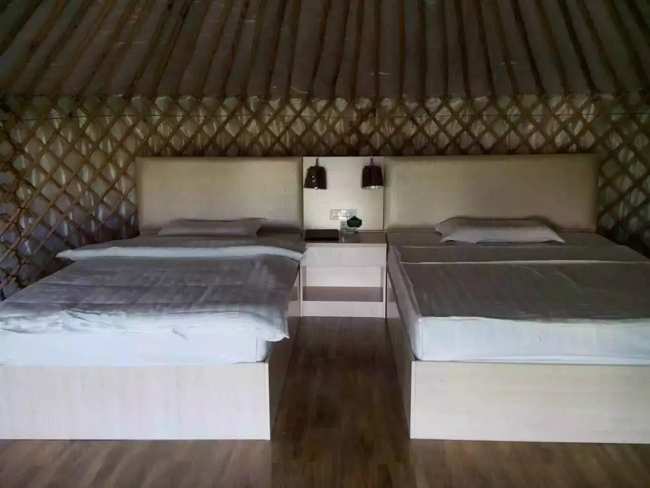 新疆布爾津縣首家星空帳篷酒店! 不是五星,但能看見五千顆星!