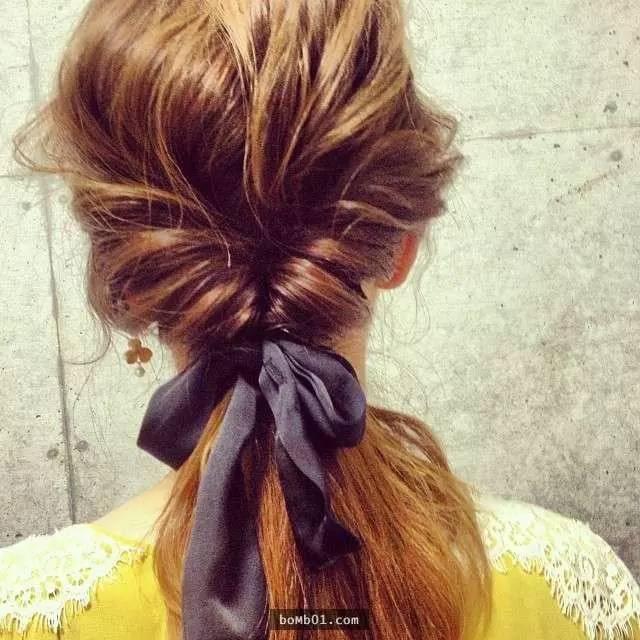 只需两步,各种漂亮发型