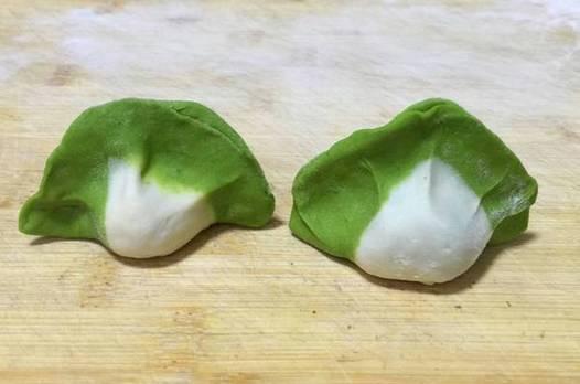 白菜餃子……今天真長見識了!