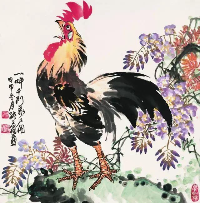 歷代名家畫雞,大吉大利!